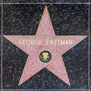 George Eastman's star on Hollywood Walk of Fame