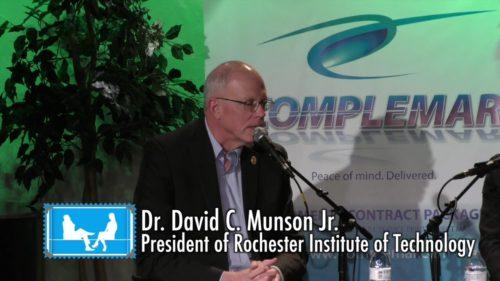 RocGrowth-Candids-2018-01-03-•-Dr.-David-Munson-•-President-RIT