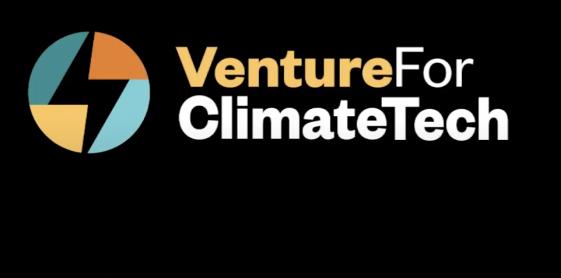 VentureForClimateTechOnBlack_Logo